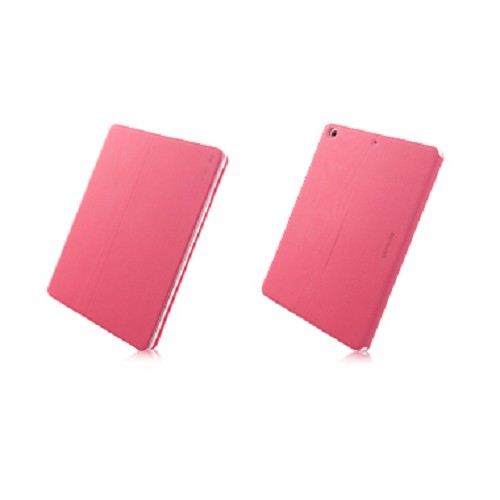 CAPDASE Folder Case Sider Baco Series for Apple iPad Air [FCAPIPAD5-1B92] - Red White - Casing Tablet / Case